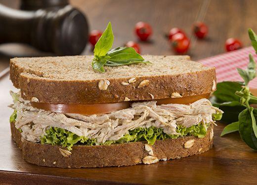 Sándwich exprés de pollo